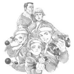 Japanese manga of The Holt Family