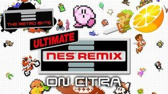 Ultimate NES Remix 3DS on Citra - The Retro Byte