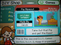 Game - Pig Wipeout