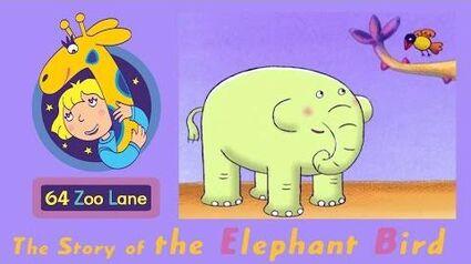 64 Zoo Lane - The Elephant Bird S01E13 HD Cartoon for kids