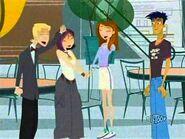 Nikki, Jen, and Jude cheer