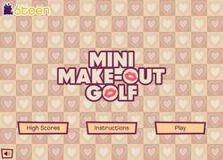 Mini Make-Out Golf