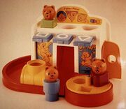 Fisher-Price Shape and Slides toy