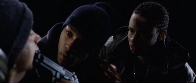 Beretta to shady's head