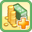 Tax Upgrade Research Icon (Gold)