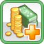 Tax Upgrade Research Icon (Silver)