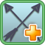 Hardened Arrows Research Icon