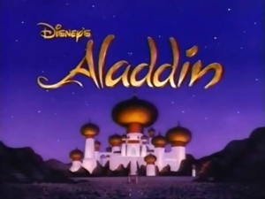 Aladdin Title Card