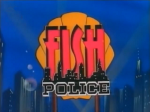 Fish Police Title Card