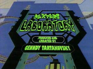 Dexter's Laboratory title
