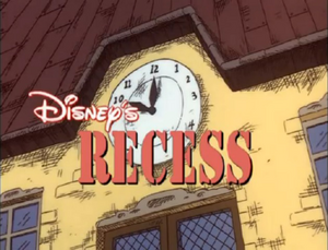 Recess Title Card