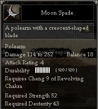 Moon Spade