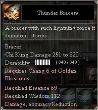 Thunder Bracers