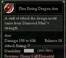 Fine Rising Dragon Axe