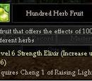 Hundred Herb Fruit