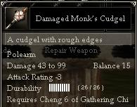 Damaged Monk's Cudgel