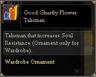 Good Ghastly Flower Talisman