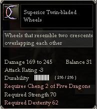 Superior Twin-bladed Wheels