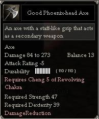 Good Phoenix-head Axe