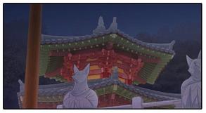 Choeum Palace at night