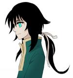Kairak's ponytail