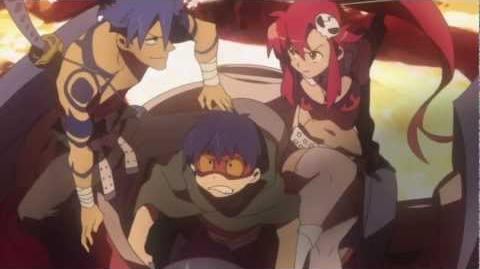 E.A.G.L. Episode 01 (Gurren Lagann Abridged)
