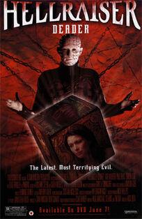 Hellraiser Deader poster
