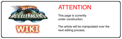 Acceleracers Wiki - Article Manipulation Tag - Under Construction