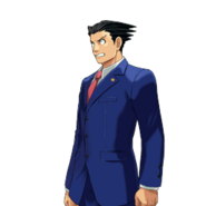 PXZ2 Phoenix Wright (full) - shocked (left)
