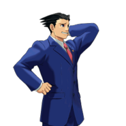PXZ2 Phoenix Wright (full) - abashed (right)