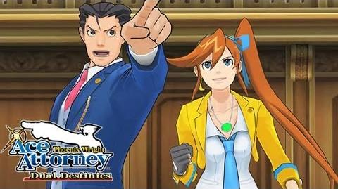 Phoenix Wright Ace Attorney - Dual Destinies - Official launch trailer