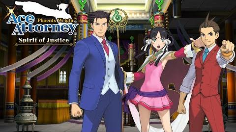 Phoenix Wright Ace Attorney - Spirit of Justice Trailer