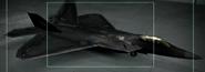 F-22A Razgriz color Hangar