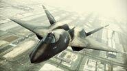 YF-23 Assault Horizon Color 3 Flyby 4