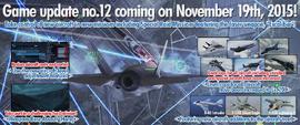 Ace Combat Infinity Update 12 Banner