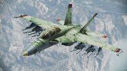 F-18 grun skin