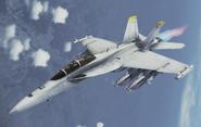 EA-18G Growler Flyby