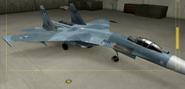 Su-27 Standard color hangar
