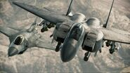 F-15E Strike Eagle and F-16C Fighting Falcon
