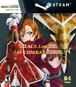 THE Ace Love iDOL Live Combat M@STER! Cover Art