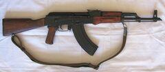 Tasty assault rifle