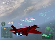 J-20 in flight