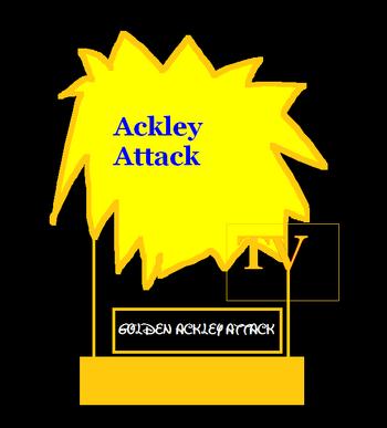 Golden Ackley Attack Award