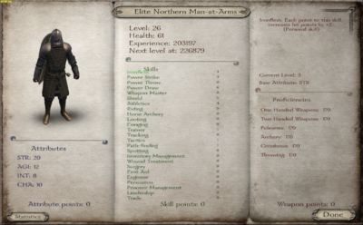 Elite Northern Man-at-Arms