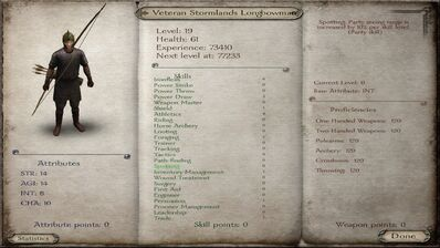 Vereran Stormlands Longbowman