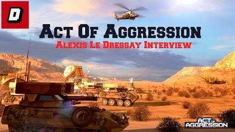 Act Of Aggression Alexis Le Dressay Interview Gamescom 2014