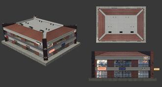 AoA Render Building Modele