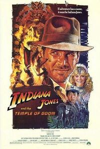 Indiana Jones and the Temple of Doom PosterB