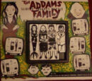 The Addams Family Sliding Squares Puzzle