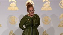 Adele Grammy Press Room 2017